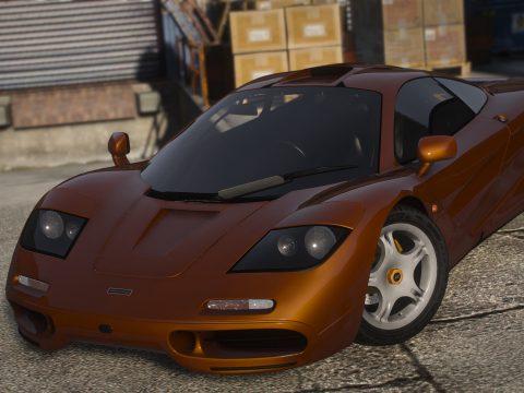 1993 McLaren F1 [Add-On / FiveM | Template | Tuning | LODs] 1.1