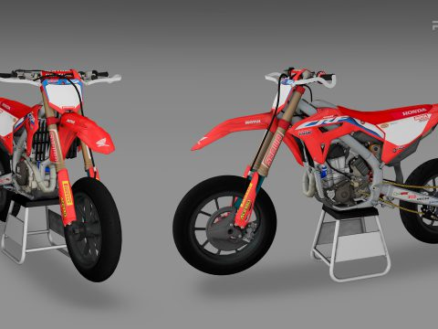 2021 Honda CRF450 Supermoto [Add-On | LODs] 1.0