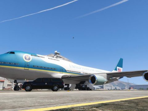 Air Force One Jet [Replace] 1.0