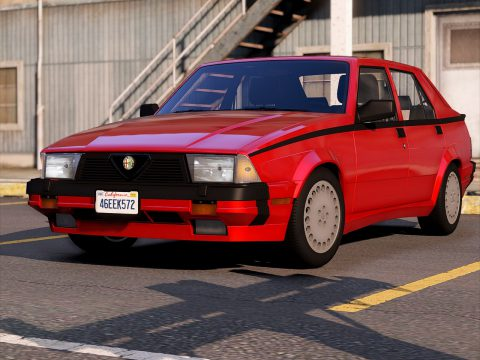 Alfa Romeo Milano Verde 1992 [Add-On | Tuning | Template] 1.1