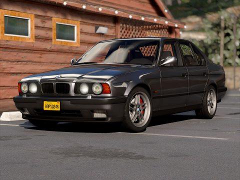 BMW M5 E34 1995 [Add-On | Extras] 1.3