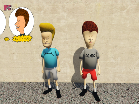Beavis and Butthead [Add-On Ped] 2.0