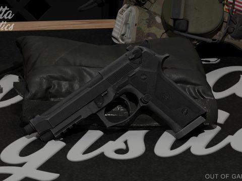 Beretta M9A3 [SP/ FiveM | Animated] 1.0