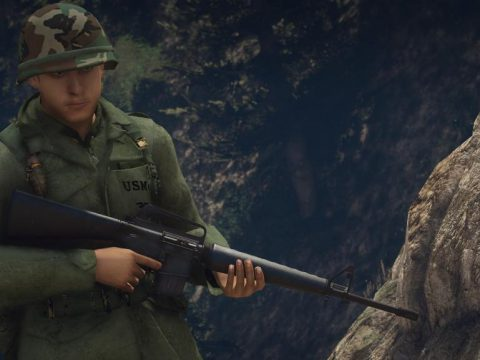 Colt M16A1 1967 Model 1.0
