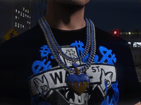 Dripping Heart Chain MP Male v1