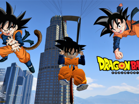 Goten But He Has Tail / Goten With a Tail Dragon Ball [Add-On Ped] Beta