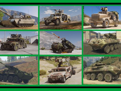 US: Ground Vehicles Military [Add-On] Pack 1.2