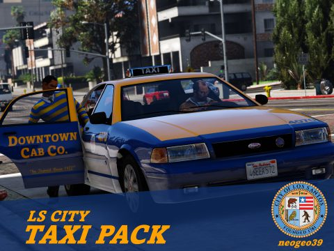 LS City Taxi Pack [Add-on | Replace] 1.1