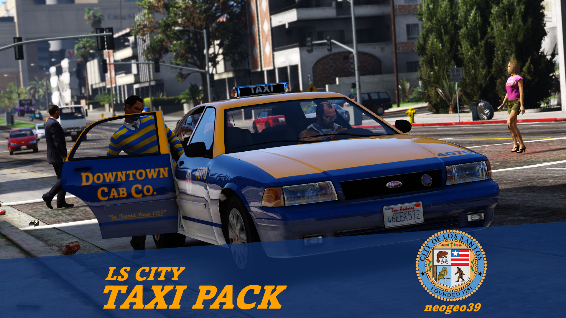 LS City Taxi Pack [Add-on   Replace] 1.1