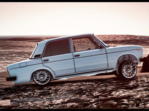 Lada Vaz2106 Baku Style Edition for Grand Theft Auto V3