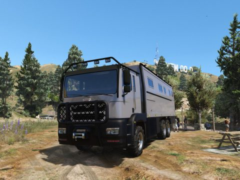 MTL Brickade RV/Motorhome/Expedition Vehicle [Add-On | Enterable Interior] 1.0