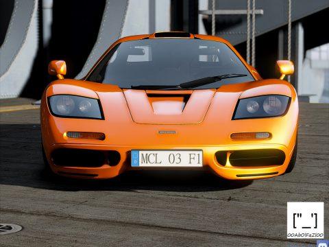 McLaren F1 1993 [Add-On | Template | Extras] 1.0