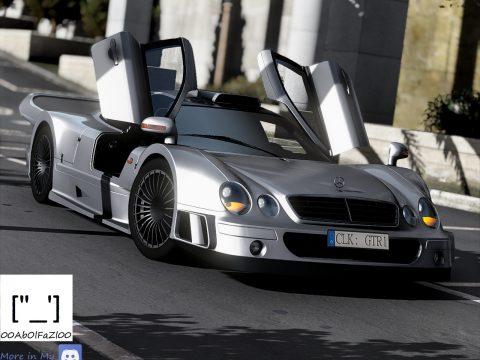 Mercedes-Benz CLK GTR 1998 [Add-On | Template | Extras] 1.0