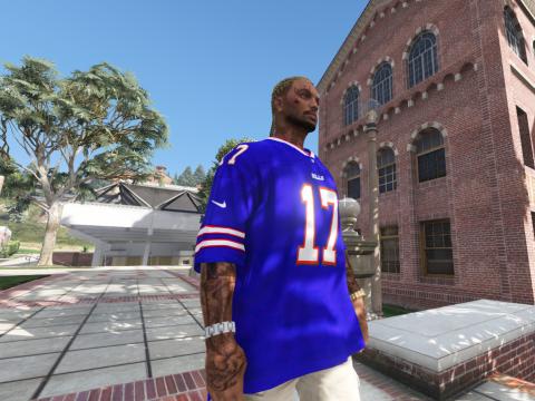 NFL - Buffalo Bills Josh Allen 4k jersey (2020-21) 1.0
