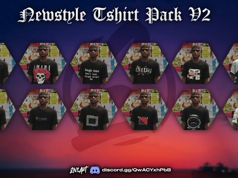New Style T-Shirt PackV2 for MP Male V1