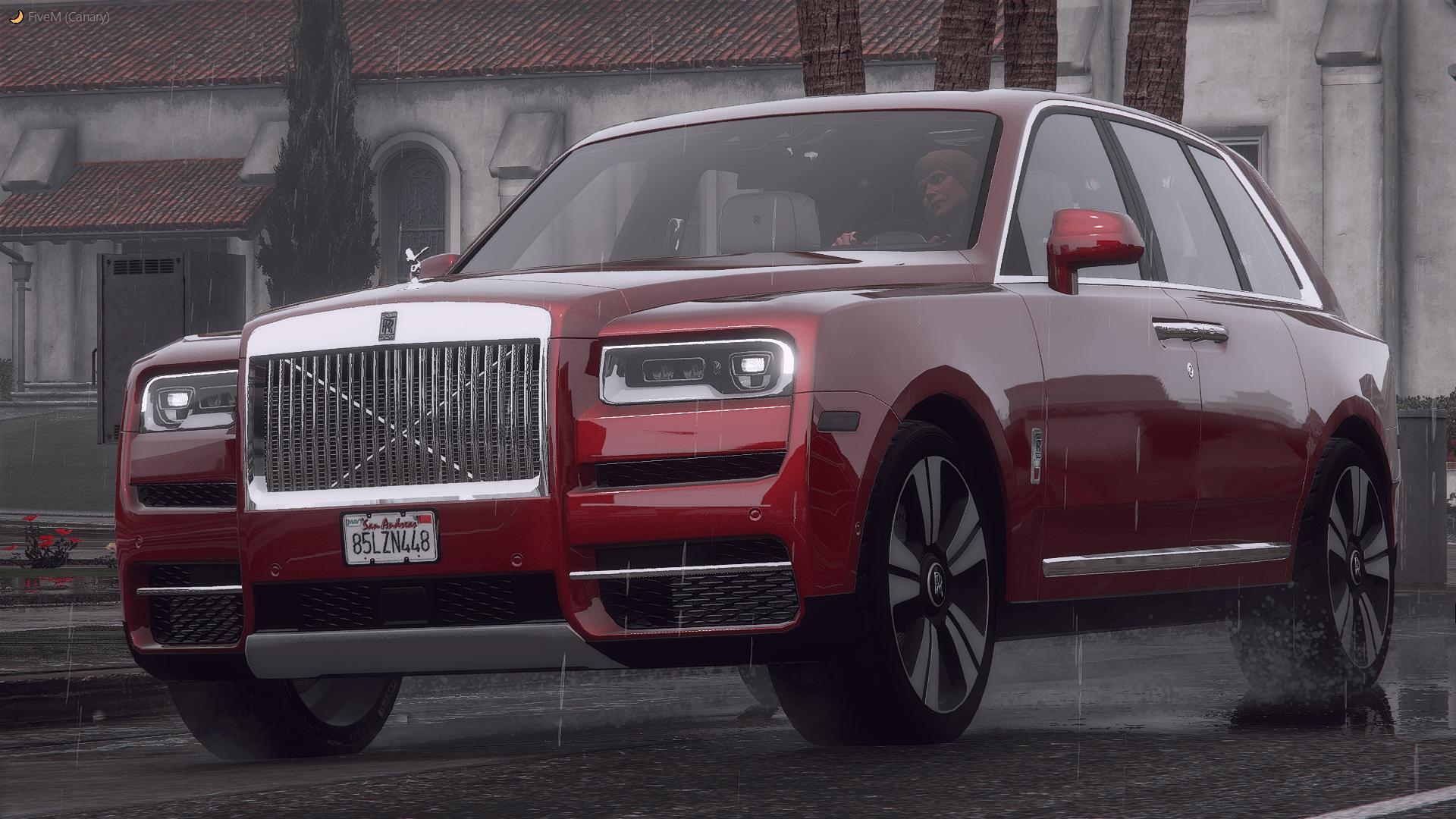 Rolls Royce Cullinan [Add-On / Replace   FiveM   LODs] 4.0