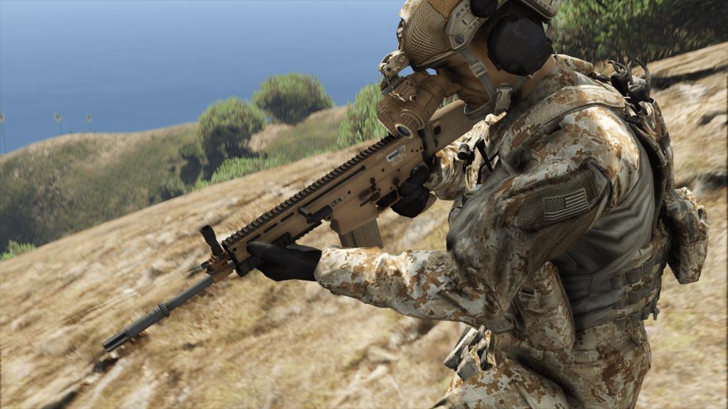SCAR-H Battle Rifle [Add-On] 1.05