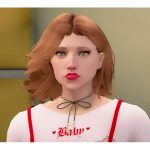 Short Hairstyle For Female (SP/FIVEM) 1.0