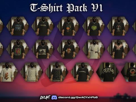 T-Shirt PackV1 for MP Male V1