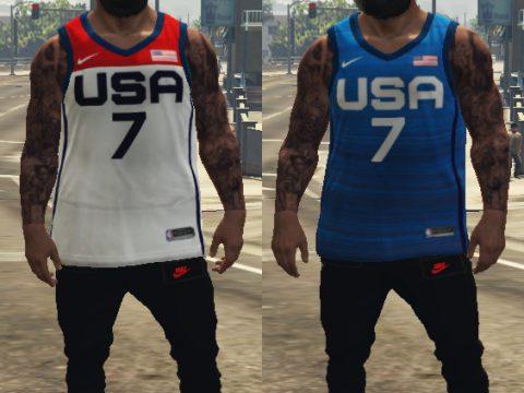 Team USA jersey 2021