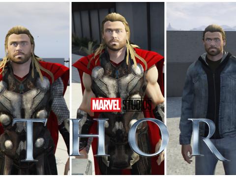 Thor(MCU) Pack w/Cloth Physics