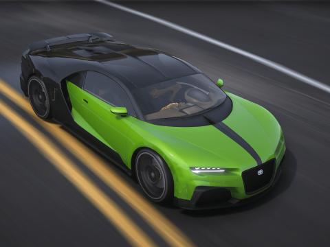 Truffade Nero Supersport [Add-On | FiveM | Tuning] 1.0