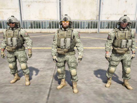US Army Outfits for Protagonists 3.0