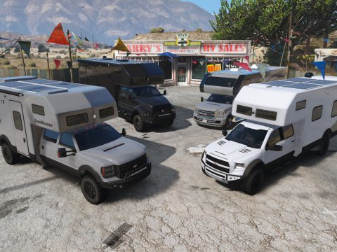 Vapid RV/Motorhome/Expedition Vehicle pack [Add-On | Enterable Interior] 2.0