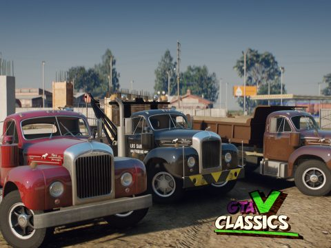 1953 Mack B-61 Pack [Add-On | Extras | LODs]