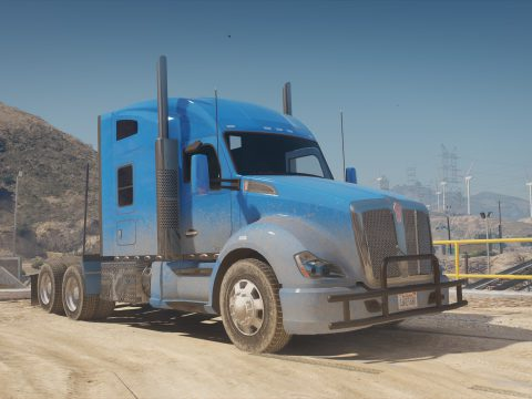 2016 Kenworth T680 [Add-On | Replace | LODs | Template] 5.0