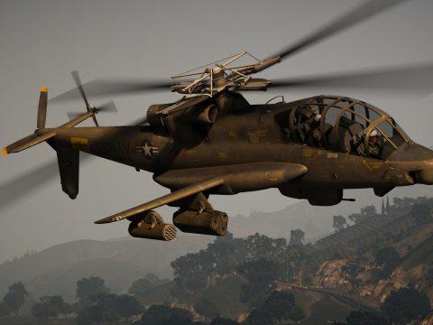 AH-56A Cheyenne [Add-On] 1.0