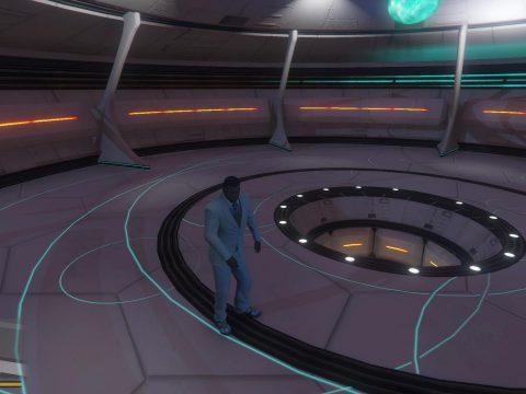 Collision for UFO interior [DLC]