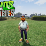 Crazy Dave (Plants vs Zombies) [Add-on Ped] 1.0