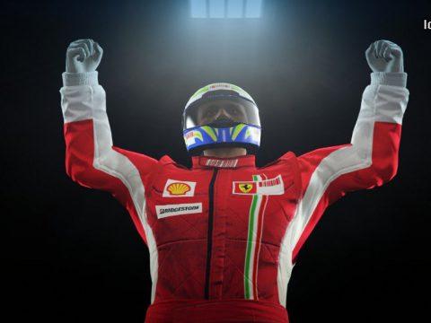 Ferrari F1 suit 2008 for Male MP 1.0