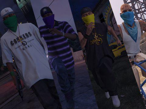 Masked Gang Peds [FIVEM READY] 1