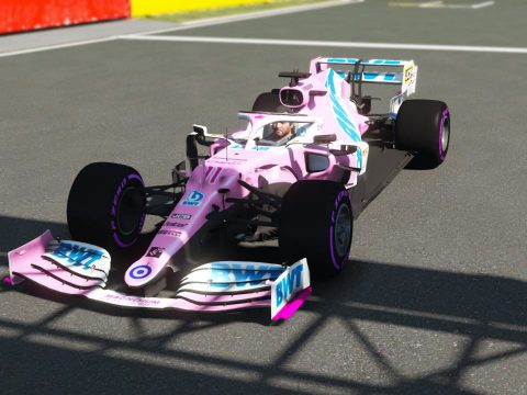 RP20 Racing Point Formula One F1 [Add-On   Liveries] 1.0