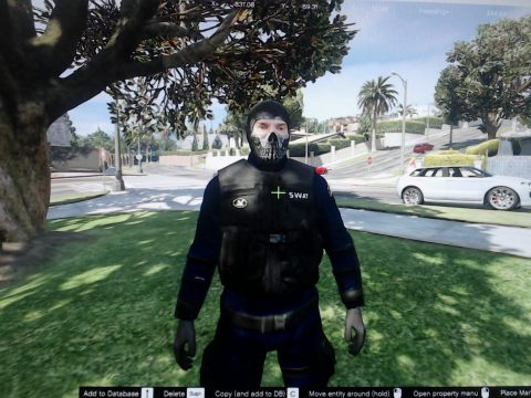 S.W.A.T ghost mask 1.0