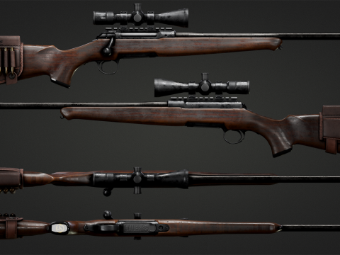 Sauer 101 Hunting Rifle [Animated | 4K] 1.0