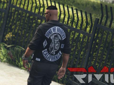 Sons of Anarchy MC vest [ President and Member vest ] MP Fivem/SP v2