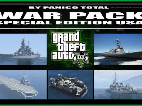 War Pack: Special Edition USA [ AddOn | Mods | Custom Layouts] 5.0
