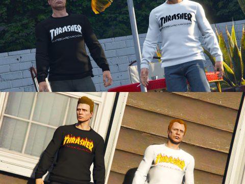 Thrasher Clothing Pack 1.0