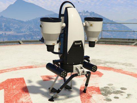 Thruster Rebalanced (New Handling and Weapons) 1