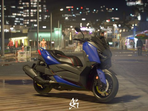 Yamaha Xmax-400 2019 [Add-on / Tuning / Unlocked ]