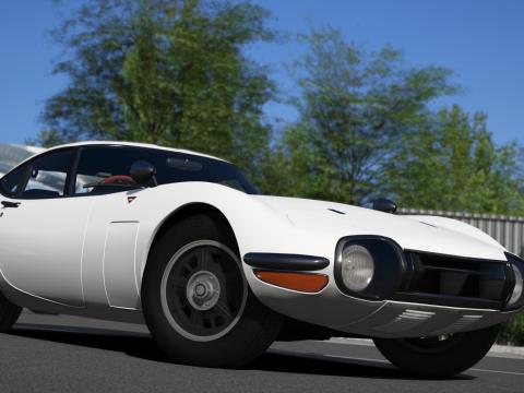 1969 Toyota 2000GT [Add-On | Tuning | RHD | Template] 1.1