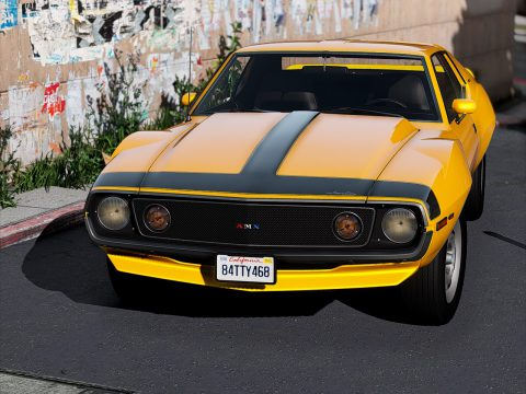 1971 AMC Javelin-AMX [Add-On | Tuning | Template | Extras] 1.0