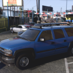 2001 Chevrolet Suburban [Add-On / Replace | Animations | Tuning | Wheels | Template | LODs] 1.0