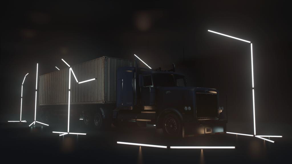 BIG Lightroom, a NFS Heat Main Menu like Showroom for Large Trucks [YMAP] 1.1