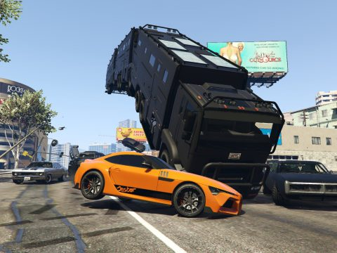 Fast and Furious 9 - Lore Friendly Vehicles Pack [Menyoo] 1.1