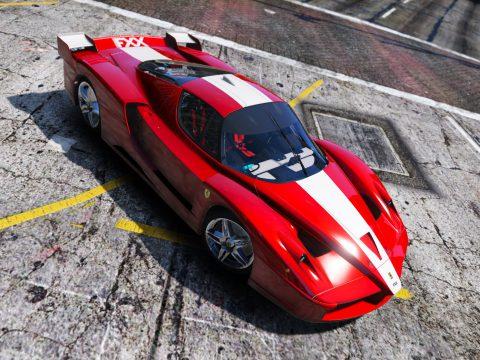 Ferrari FXX 2005 [Add-On / Replace | Template | Wiper | OIV] 1.0