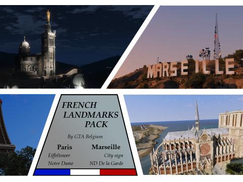 French Landmarks Pack 1.0